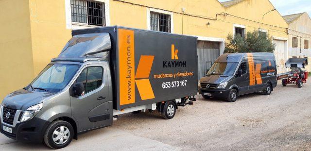 camiones mudanzas kaymon