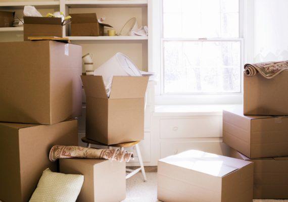 Tipos de cajas y embalaje para mudanzas