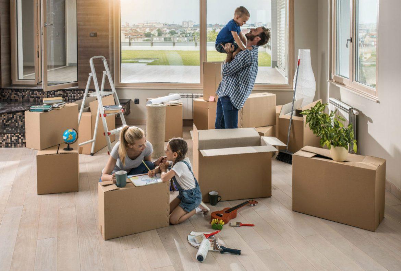 Recomendaciones para hacer una mudanza con niños