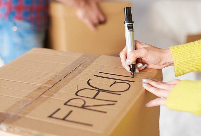 Consejos para embalar objetos frágiles en una mudanza